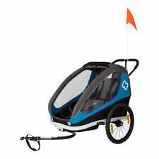 Hamax Traveller Pushchair & Bicycle Trailer Blue Grey Bicycle Pendant