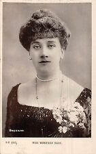 POSTCARD    ACTRESSES     WINIFRED  HARE
