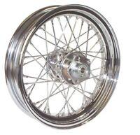 "40 Spoke 16"" Chrome Front Wheel 16 x 3 fr 00-06 Harley FLST Softail Heritage"