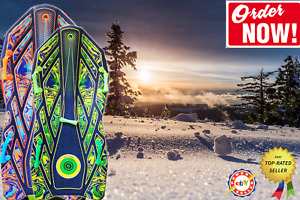 """SNO-STORM Vipernex 50"""" Snow Sled Lightweight Glide Smoothly Ready to ship NEW"""