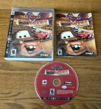 Cars: Mater-National Championship Game Complete! PlayStation 3 PS3