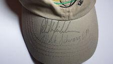 PHIL MICKELSON signed baseball hat WGC NEC Invitational Mark Schwarz ESPN