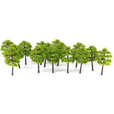 40x Model Trees Layout Train Railway Diorama Landscape Scenery 1:250 Z Scale