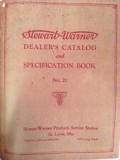 1927 STEWART WARNER CATALOG Vintage Antique Car HOT ROD SCTA GAUGE SCTA SW OLD