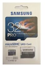 32GB MICRO SDHC Samsung uhs-3 Tarjeta de memoria Serie Pro Max 90mb / Escribir