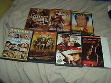 7 Western Dvd Lot Patriot Unforgiven 3:10 to Yuma 24 films