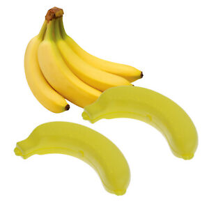 2x Bananenbox Bananendose Vesperbox Aufbewahrungsbox Transportbox Bananen Box