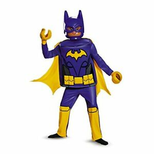 Disguise: Lego Movie Batgirl Girls Costume Size L 10-12 (Halloween/Dress-Up) New