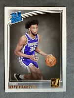 2018-19 Donruss MARVIN BAGLEY III RC RATED ROOKIE #168 SACRAMENTO KINGS