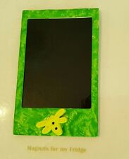 Magnetic Instant Photo Frame Magnet w Dragonfly Feature 5.5cm x 8.7cm - M267