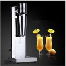 Stainless Steel Single Head Milk Shake Machine Electric Bubble Tea Mixer 220V cm