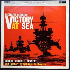 Richard Rodgers VICTORY AT SEA TV Soundtrack LP 59 RCA Symphony Orchestra Stereo