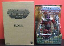 "Masters Of The Universe Classics Flogg MATTEL FACTORY ERROR Variant ""Snake Men"""