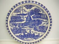 "VINTAGE SOUVENIR PLATE ""OUR NATIONS CAPITOL"" WASHINGTON, D.C. VERNON KILNS"