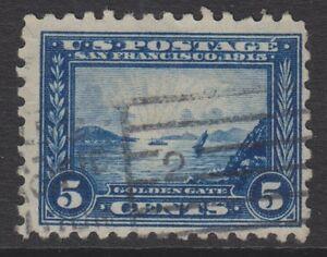 USA - 1915, 5c (Perf 10) Briefmarke - Gebraucht - Sg