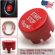 Red Engine Start/Stop Push Button Replace Cover For BMW F20 F30 F10 F48 F22 F15