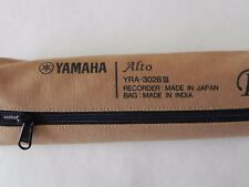 YAMAHA ABS resin recorder Alto Baroque YRA-302BIII with case and rod cleaner new