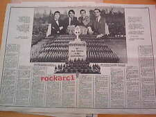 KRAFTWERK final solution 2 pages 1975 UK ARTICLE / clipping