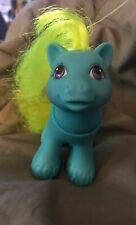 Vintage MLP BABY RIBBS G1 Peek-a-Boo Boy Pony Poseable Head Purple Dragon