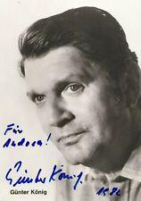 Günter König+ - original signierte schöne Autogrammkarte 1.TRAUMSCHIFF KÄPITÄN