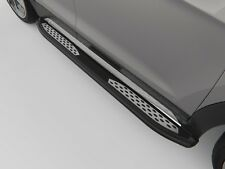 Ford Ranger 2012-2018 Running Board Side Steps Plus Black 193 cm