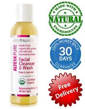 Facial Cleanser & Wash Rose & Jasmine Natural Face Skin Deep Clean Essential Oil