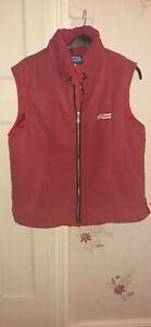 Rydale ladies red raspberry Body Warmer Gilet Waistcoat Lightweight  size 16-18