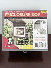 Arlington Eb0708 Electronic Non Metallic Heavy Duty Enclosure Box 7 X 8 X 35