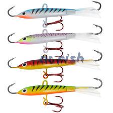 5/8 oz Fishing Jigs with Treble Hooks Saltwater Lures Ice Fishing Jigging Rap