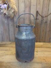 alte Milchkanne aus Eisen ~ 20 Liter ~  antik vom Bauernhof super zur Deko