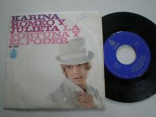"KARINA Romeo Y Julieta SPAIN 7"" VINYL 1967"