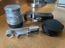 New ListingCla'd Summicron 50mm V2 Dr W/ Goggles, Hood, Leica Filter