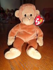 TY BEANIE BABY BEAR - BONGO - HANG TAG PROTECTED - EXCELLENT CONDITION