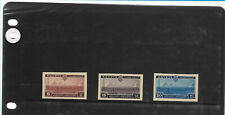 Egypt 1938 Telecommunications set CANCELLED BACK MNH VF (Only 50 Exist)