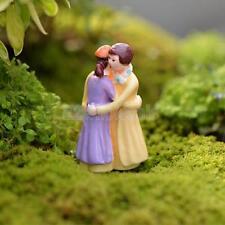 Lovers Embrace Miniature Resin Micro Landscape Bonsai Fairy Ornament Decor