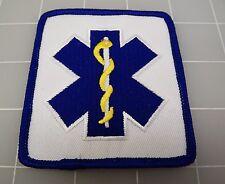 """EMS LOGO Blue & White Square PATCH BRAND NEW 3"""""""