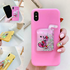 3D Drink Bottle Quicksand Soft TPU Phone Case Cover For Huawei Samsung iPhone