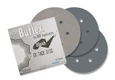 """Eagle Abrasives 1931534 black 6""""  DRY Super Buflex Discs -  25 pack"""