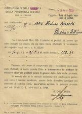 Istituto Nazionale Fascista Previdenza Sociale dopo la Resa di Caserta 1945
