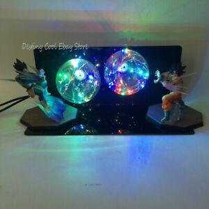 Goku VS Vegeta Dragon Ball Z LED Night Light Lamp Figure Model Toy Desk Geschenk
