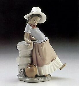 LLADRO A Steppin' Time Black Legacy Mint Condition! No Box! 5158