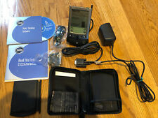 Palm Pilot Vx Handheld Pda Pocket Pc Dock Charger Book Cd Acccessories