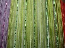 Acrylique Perles de Cristal Fenêtre Rideau Passage mariage Backdrop vert