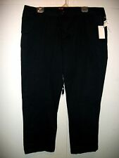 NWT SEVENT THE LUXE  PREMIUM  DENIM WOMEN PANT Sz [ 16 ] NAVY,TWO POCKETS SIDE