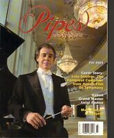 FALL 2003 PIPES AND TOBACCO vintage magazine (UNREAD) LALO SCHIFRIN
