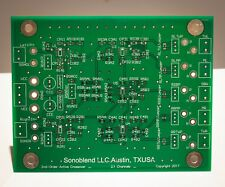 2.1 Channel (Subwoofer) 2nd Order Active Crossover Filter PCB Board from USA