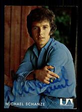 Michael Schanze Autogrammkarte Original Signiert # BC 71906