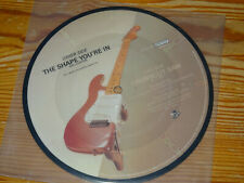 ERIC CLAPTON - THE SHAPE YOU'RE IN / UK PICTURE-SINGLE 7'' (EX)