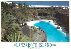 The Lanzarote Island Large Postcard Jameos Del Agua Detalle Canary Islands Spain
