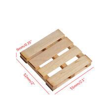 Mini Wooden Forklift Pallet For TRX-4 SCX10 D90 Wraith RC Decorative Accessory
